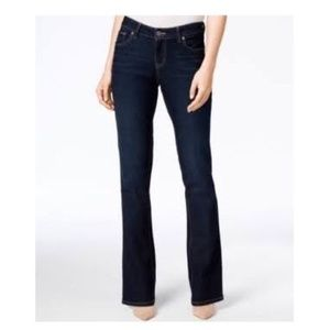 Jennifer Lopez Dark Washed Bootcut Jeans NWOT